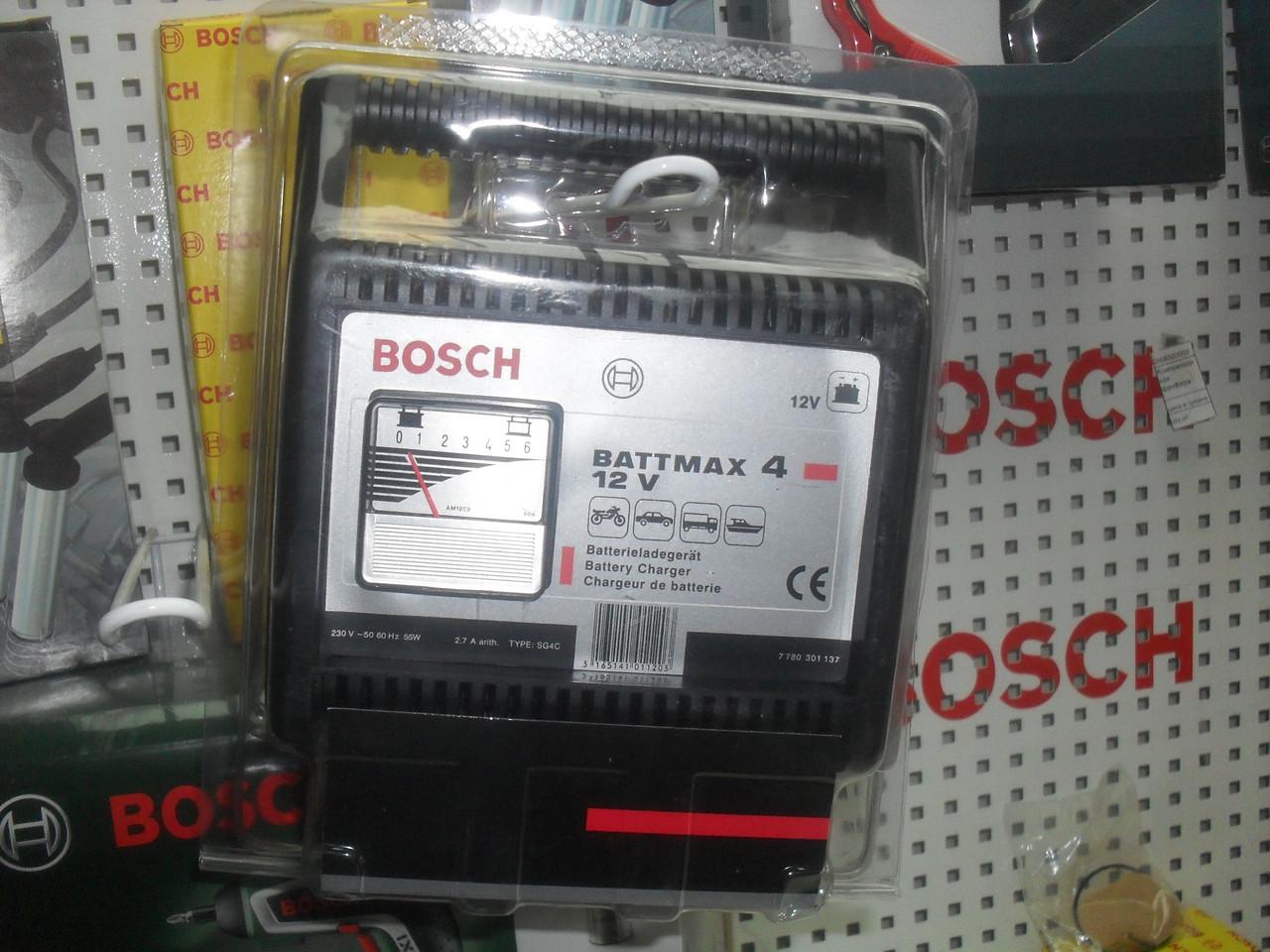 Автомобильное зарядное устройство Bosch Battmax 4 7780301137, BAT, 7 780 301 137, bat4