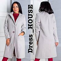 Демисезонное женское пальто оверсайз в цветах h-5PA113