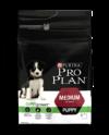 PRO PLAN Puppy Medium with OPTISTART™ корм для щенков средних пород от 10 до 25 кг,  с курицей и рисом 12 кг + подарок