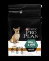 PRO PLAN Adult Small and Mini with OPTIHEALTH™ сухой корм для взрослых собак мелких пород от 1 до 10 кг, с курицей и рисом 700 г
