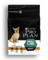 PRO PLAN Adult Small and Mini with OPTIHEALTH™ сухой корм для взрослых собак мелких пород от 1 до 10 кг, с курицей и рисом 3 кг
