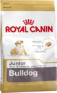 Royal Canin BULLDOG JUNIOR сухой корм для щенков породы английский бульдог до 12 месяцев 12 кг + подарок