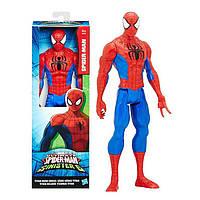 Фигурка большой Человек-паук высотой 30 см Titan Hero Series Spider-man Hasbro B5753