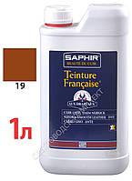 Краситель для открытых типов кож Saphir Teinture Francaise, 1000 мл, цв. рыжеватый (19)