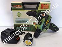 Шуруповерт аккумуляторный Procraft (12 В литиевый)