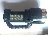 Ручний ліхтарик на сонячній батареї Super Bright BW-6870, фото 6