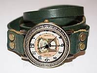 Модные женские дизайнерские часы наручные на длинном ремешке 2014
