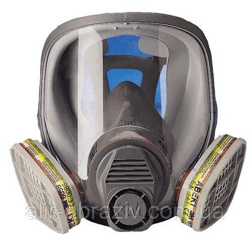 Полнолицевая маска 3M 6800