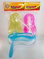 """Гр Набор для кормления прозрачный /тарелка с теркой, крышка, ложка/ 135 (8) """"ЗАБАВА"""""""
