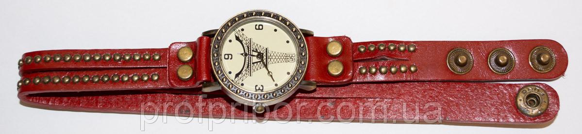 Женские наручные часы на длинном ремешке