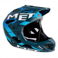 Шлем MET PARACHUTE M BLUE/CYAN