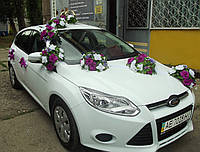 Украшение для свадебной машины 14
