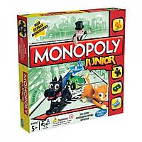 Моя первая монополия - экономическая настольная игра, Monopoly, Hasbro