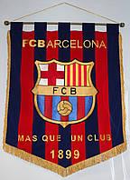 Штандарт настенный футбольный с гербом  FC Barcelona