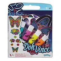 Пластилин Да Винчи Настенное украшение Бабочки, Doh Vinci, Play-Doh
