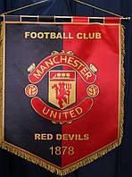 Штандарт настенный футбольный с гербом FC Manchester United