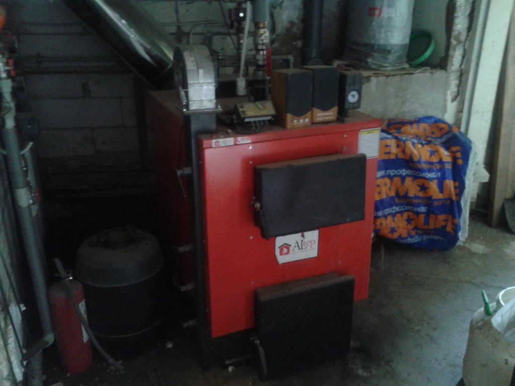 Поставка котла Альтеп КТ 1Е 45 кВт (фирма ЧП Микросистема)