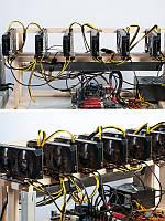 Майнинг ферма GPU Nvidia GTX 1070 8 Гб 6 шт _Venera