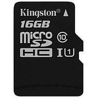 Карта памяти Kingston 16GB microSDHC Class 10 UHS-I (SDC10G2/16GBSP)