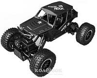 Автомобиль Sulong Toys Off-Road Crawler на р/у – Tiger, матовый черный, аккумулятор 4,8V, 1:18