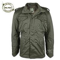 Куртка М-65 с подстежкой цвет олива  МIl-Tec Германия