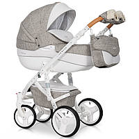 Детская универсальная коляска 2 в 1 Riko Brano Luxe 02 Latte