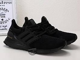 Кроссовки мужские Adidas Ultra Boost 3.0 Triple Black | Адидас Ультра бутс 3.0 трипл черные