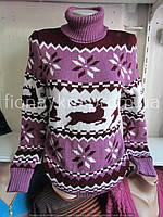 Женский свитер,вязка,ЗИМА (44/50) Украина — купить оптом по дешевой цене со склада  1164