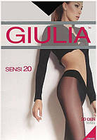 Колготки GIULIA SENSI 20 2 (S) 20 FUMO (серый)