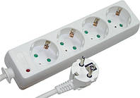 Сетевой фильтр-удлинитель e.es.d.4.5.z.b тип d 4 гнезда 5м с з/к baby protect