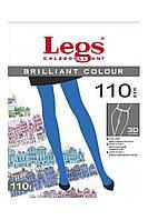 Колготки LEGS BRILLIANT COLOUR 110 3/4 110 ANTRACITE (тёмно-серый)