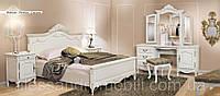 Деревянная спальня Mogador crem  (Могадор крем), Румыния