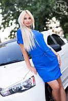 Платье-полубатал Однотон