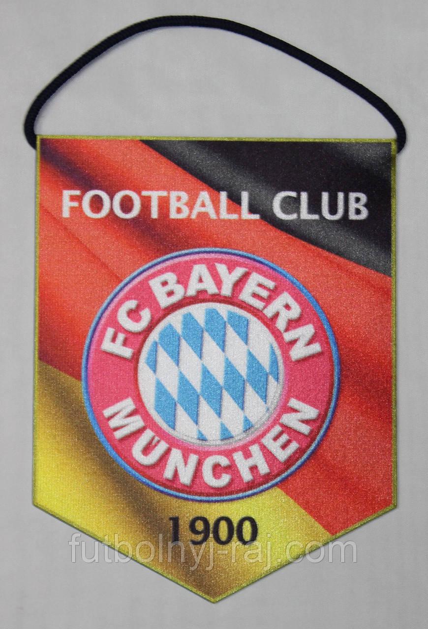 Вымпел футбольный с гербом FC Baern, фото 1
