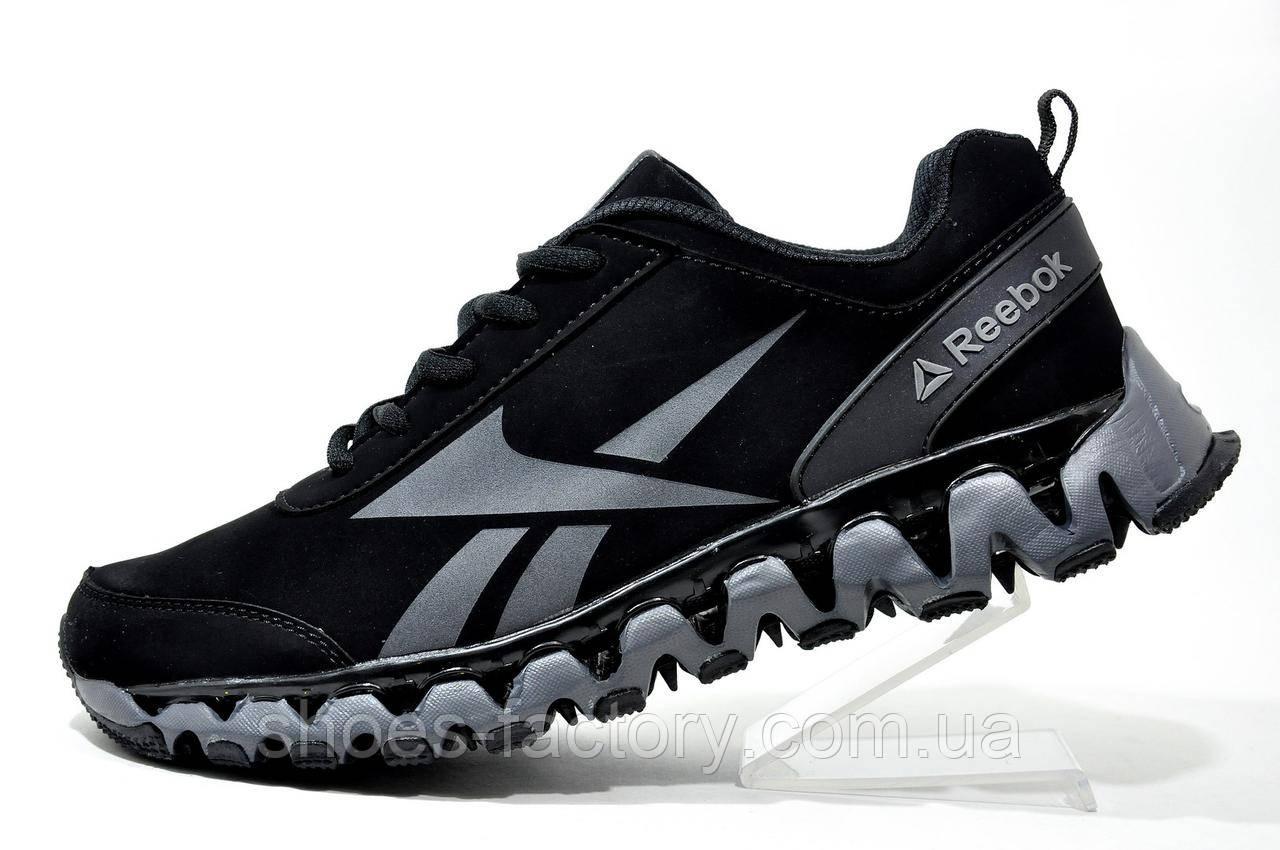 Мужские кроссовки в стиле Reebok ZigTech, Black Gray - Интернет магазин  спортивной обуви Shoes 03fe4474771