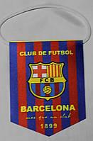 Вымпел футбольный с гербом FC Barcelona