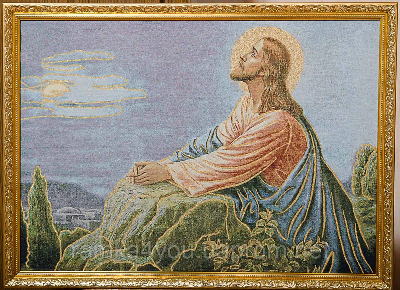 """Картина-гобелен """"Иисус"""" 60х40 см"""
