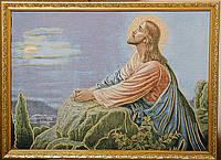 """Картина-гобелен """"Иисус"""" 60х40 см, фото 1"""
