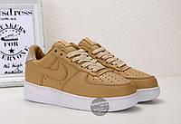 Кроссовки женские Nike Lab Air Force 1 Low Vachetta Tan/White | Найк Аир Форс 1 Лоу Вачета, фото 1