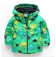 Детский плащ дождевик - Динозавры