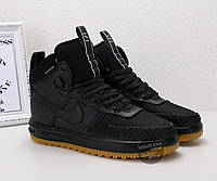 Кроссовки мужские  Nike Lunar Force 1 Duckboot | Найк Лунар Форс 1 ботинки