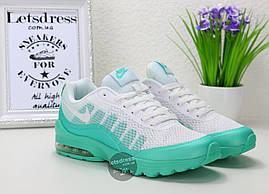 Кроссовки женские Nike Air Max Invigor Print Women мятные  Найк Аир Макс Инвигор принт