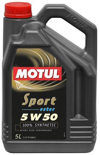 Моторное масло 5W-50 (5л.) MOTUL Sport