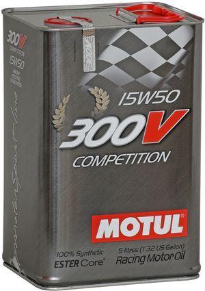Моторное масло 15W-50 (5л.) MOTUL 300V Competition