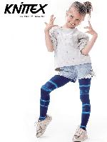 Колготки детские KNITTEX AQUARELLE 60 den Темно-синий 116-122