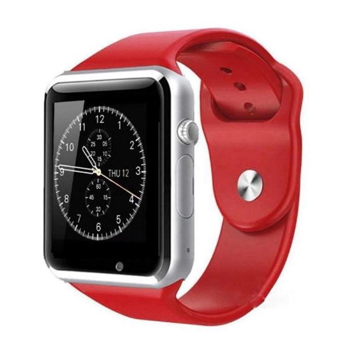 Умные часы Smart Watch A1 Red (with SIM + MicroSD + Camera)