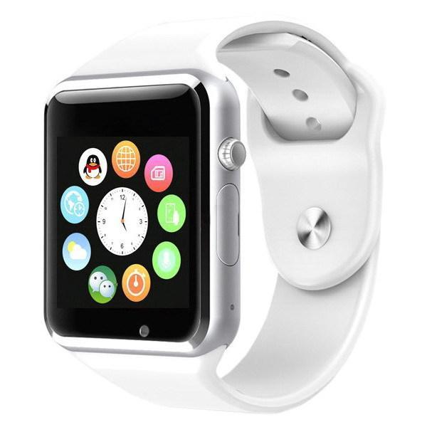 Умные часы Smart Watch A1 White (with SIM + MicroSD + Camera)