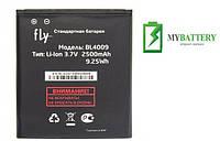 Оригинальный аккумулятор АКБ батарея Fly BL4009  IQ275