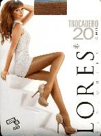 Колготки классика Lores Rivoli (Trocadero) 20 den Черный 4