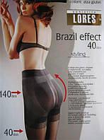 Колготки Lores Brasil Effect 40 den Темно-серый 4